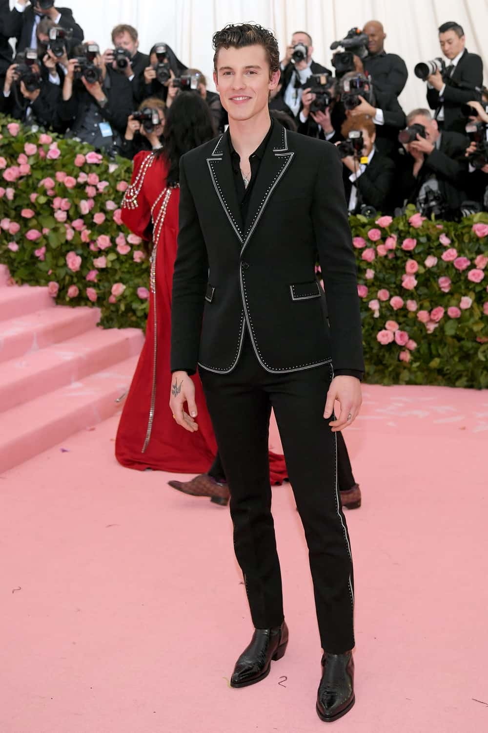 Shawn Mendes The 2019 Met Gala Celebrating Camp: Notes on Fashion - Arrivals