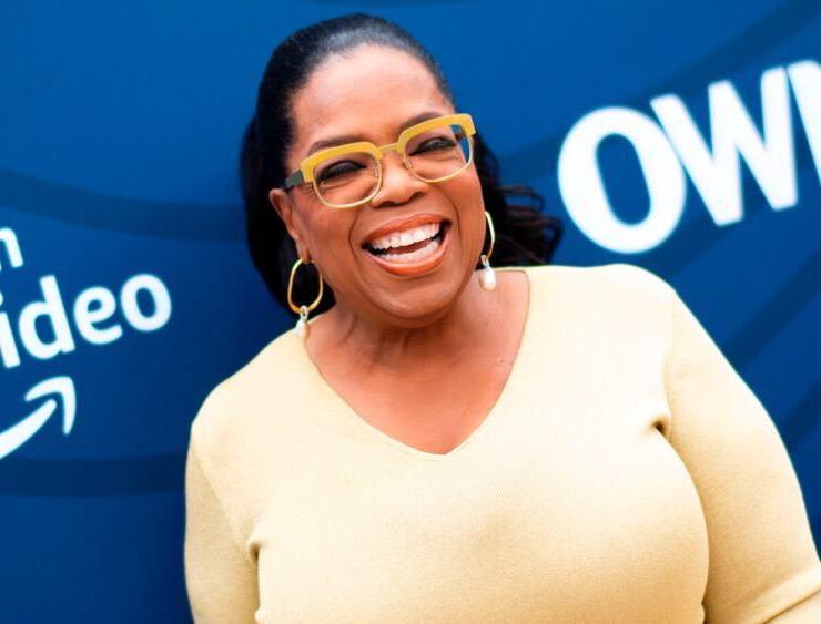 Oprah Winfrey US-ENTERTAINMENT-HOLLYWOOD REPORTER-GALA