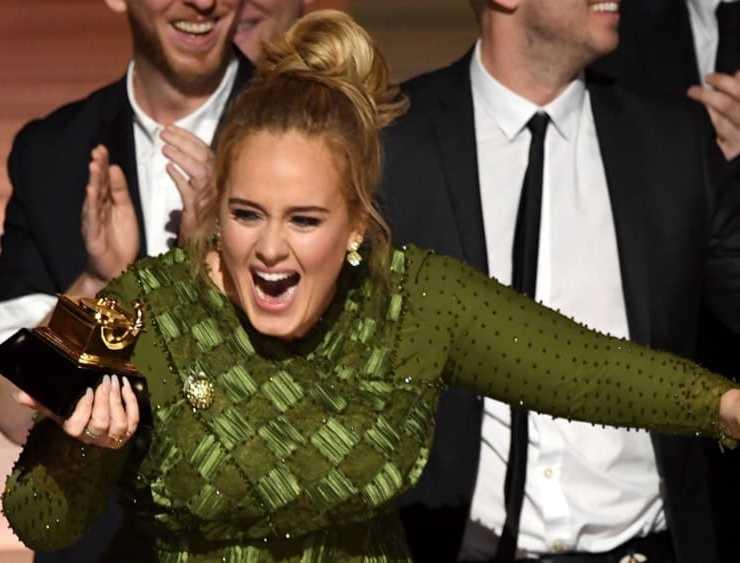 Adele 59th GRAMMY Awards - Show