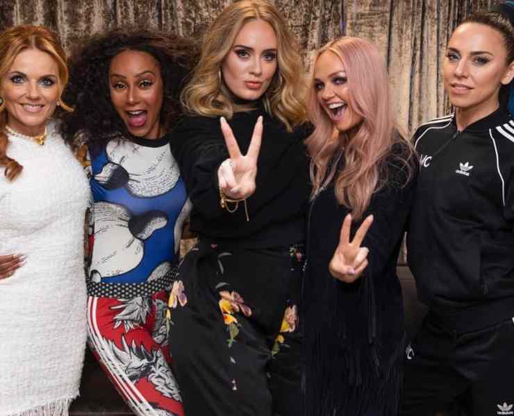 Adele and the Spice Girls