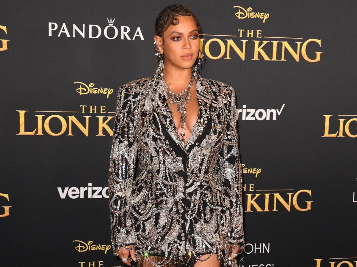 Beyonce Lion King Premiere