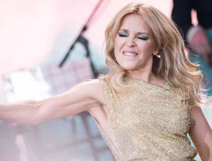 Kylie Minogue's Sheds Tears of Joy as She Finally Plays Glastonbury 1