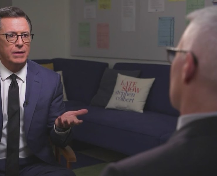 Anderson Cooper Stephen Colbert