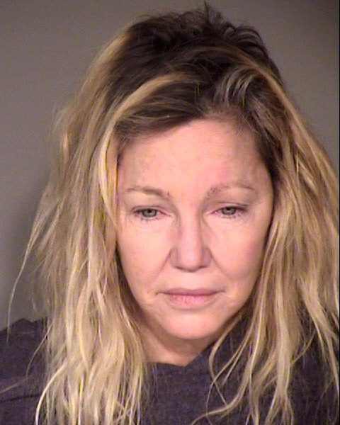 Heather Locklear Booking Photo