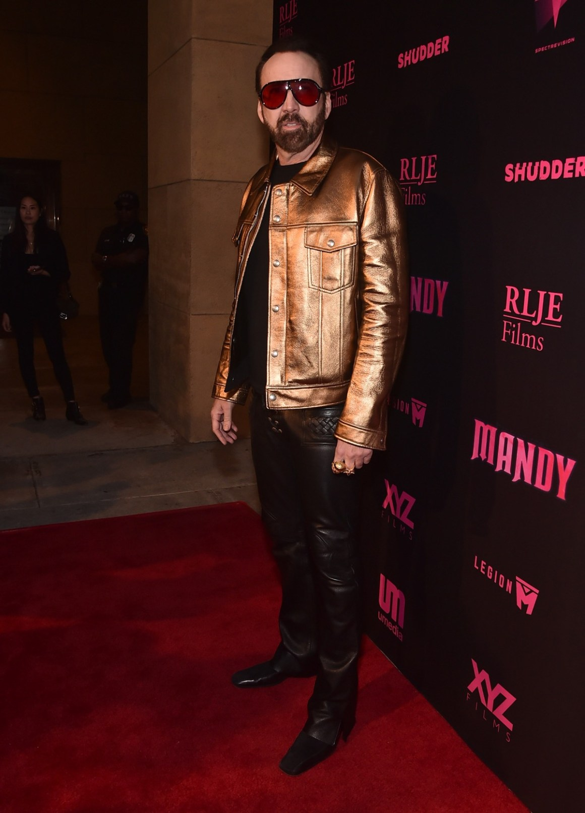 """Los Angeles Special Screening And Q&A Of """"Mandy"""" At Beyond Fest - Red Carpet"""