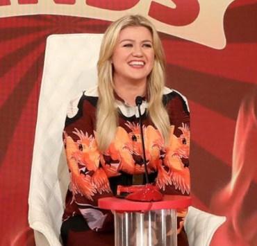 Kelly Clarkson on The Ellen DeGeneres Show