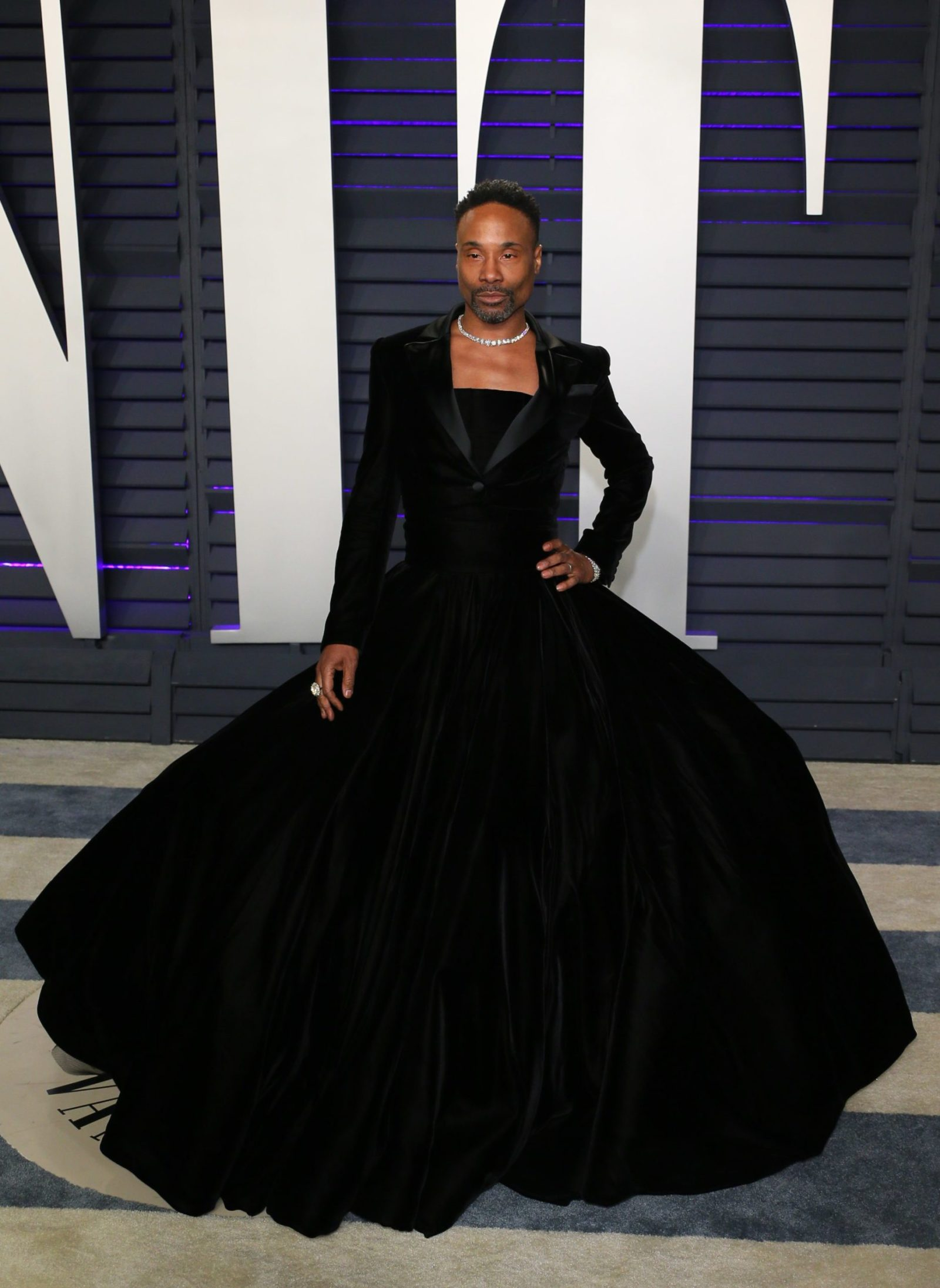 Billy Porter attends the 2019 Vanity Fair Oscar Party following the 91st Academy Awards