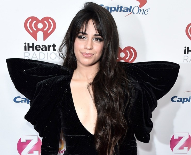 Camila Cabello arrives for the Z100's iHeartRadio Jingle Ball 2019