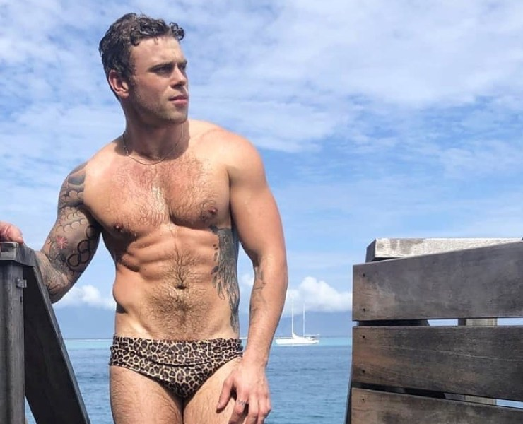 Gus Kenworthy Bathing Suit
