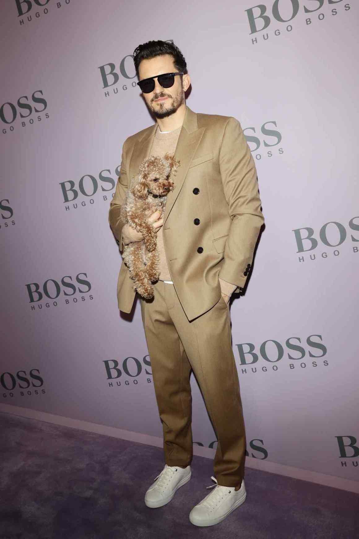BOSS - Photocall - Milan Fashion Week Fall/Winter 2020