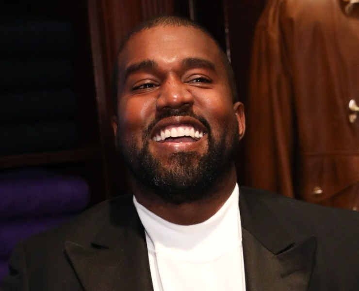 Kanye West at the Jim Moore Book Event At Ralph Lauren Chicago