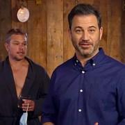 Jimmy Kimmel and Matt Damon