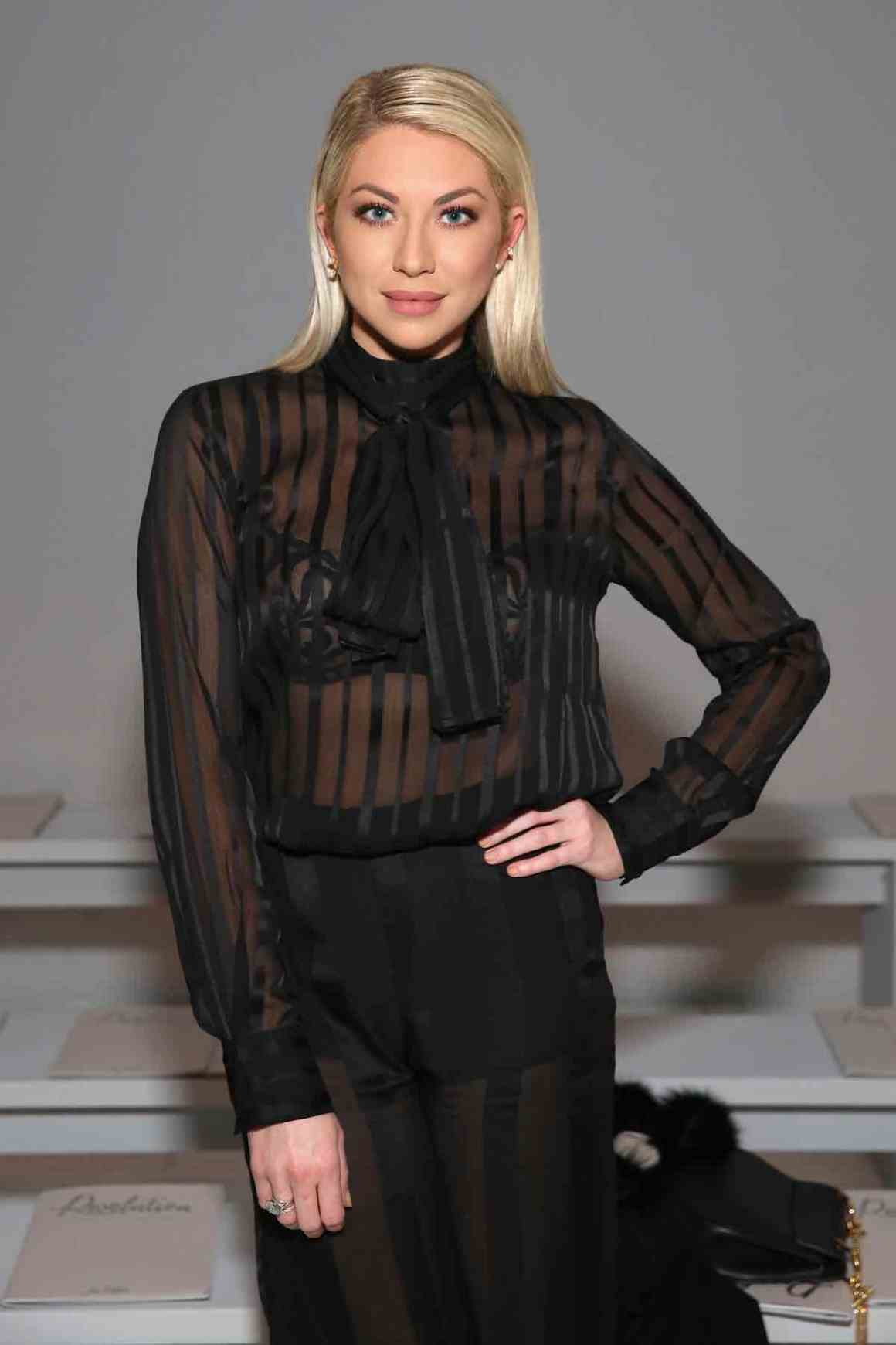 Stassi Schroeder attends the Marcel Ostertag - Front Row - February 2017 - New York Fashion Week: The Shows