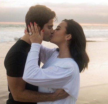 Demi Lovato Engaged to Max Ehrich