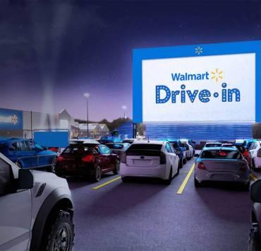 Walmart Drive-In Theaters