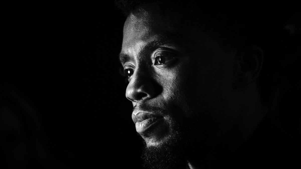 Chadwick Boseman European Premiere Of Marvel Studios' Black Panther
