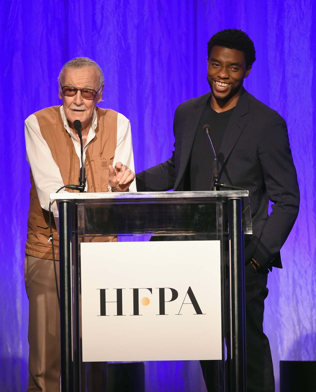 Chadwick Boseman Hollywood Foreign Press Association's Grants Banquet - Show