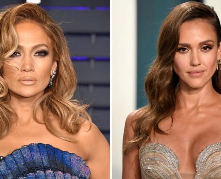 Jennifer Lopez and Jessica Alba