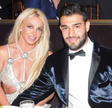 Britney Spears and Sam Asghari 29th Annual GLAAD Media Awards Los Angeles - Dinner and Show
