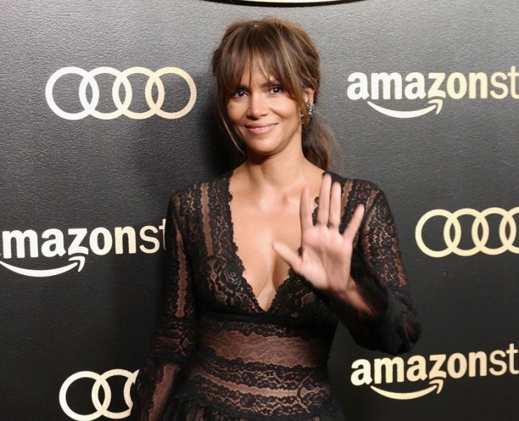 Halle Berry Amazon Studios Golden Globes Celebration - Arrivals