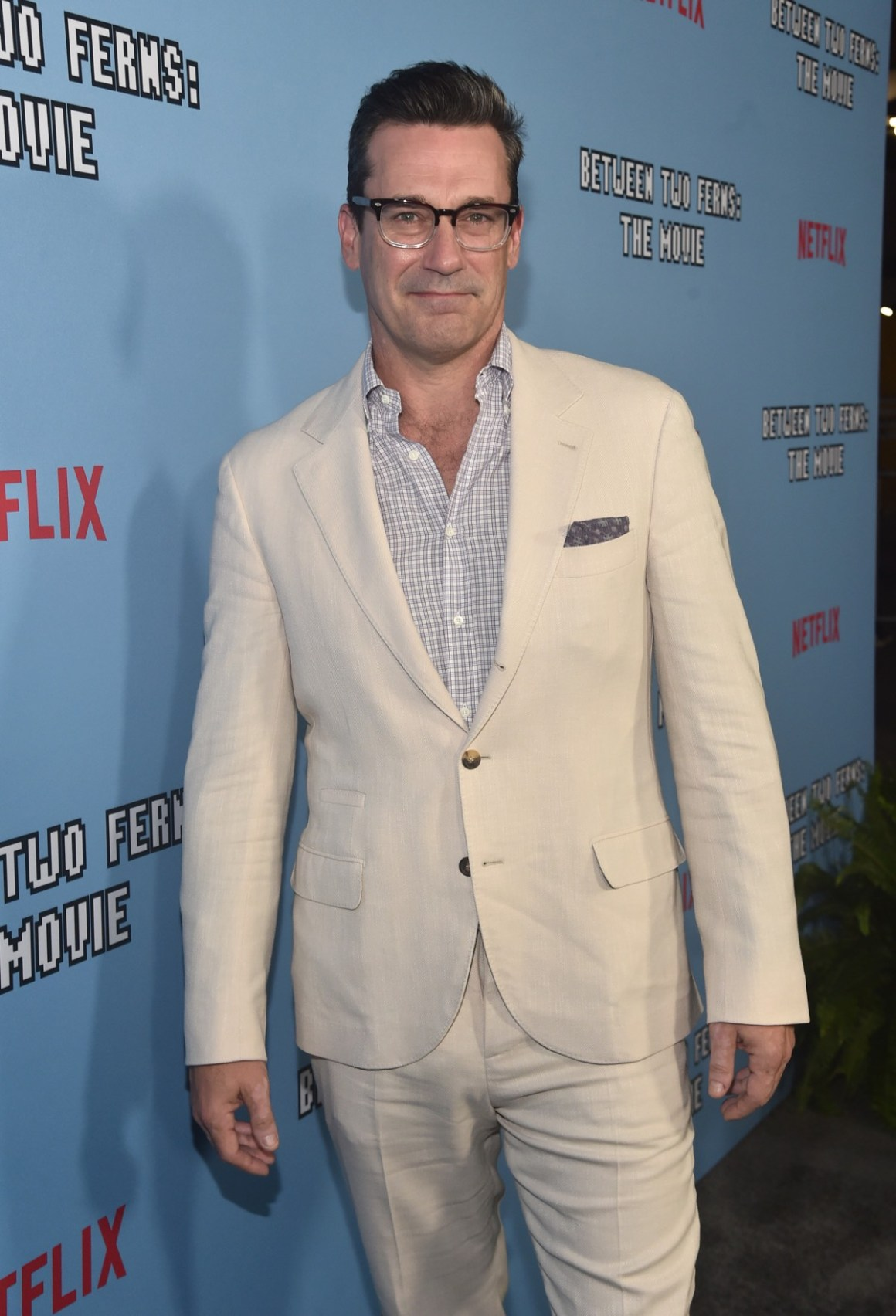 "Jon Hamm LA Premiere Of Netflix's ""Between Two Ferns: The Movie"" - Red Carpet"