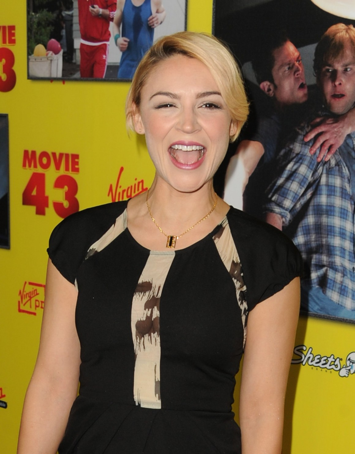 """Samaire Armstrong Premiere Of Relativity Media's """"Movie 43"""" - Red Carpet"""