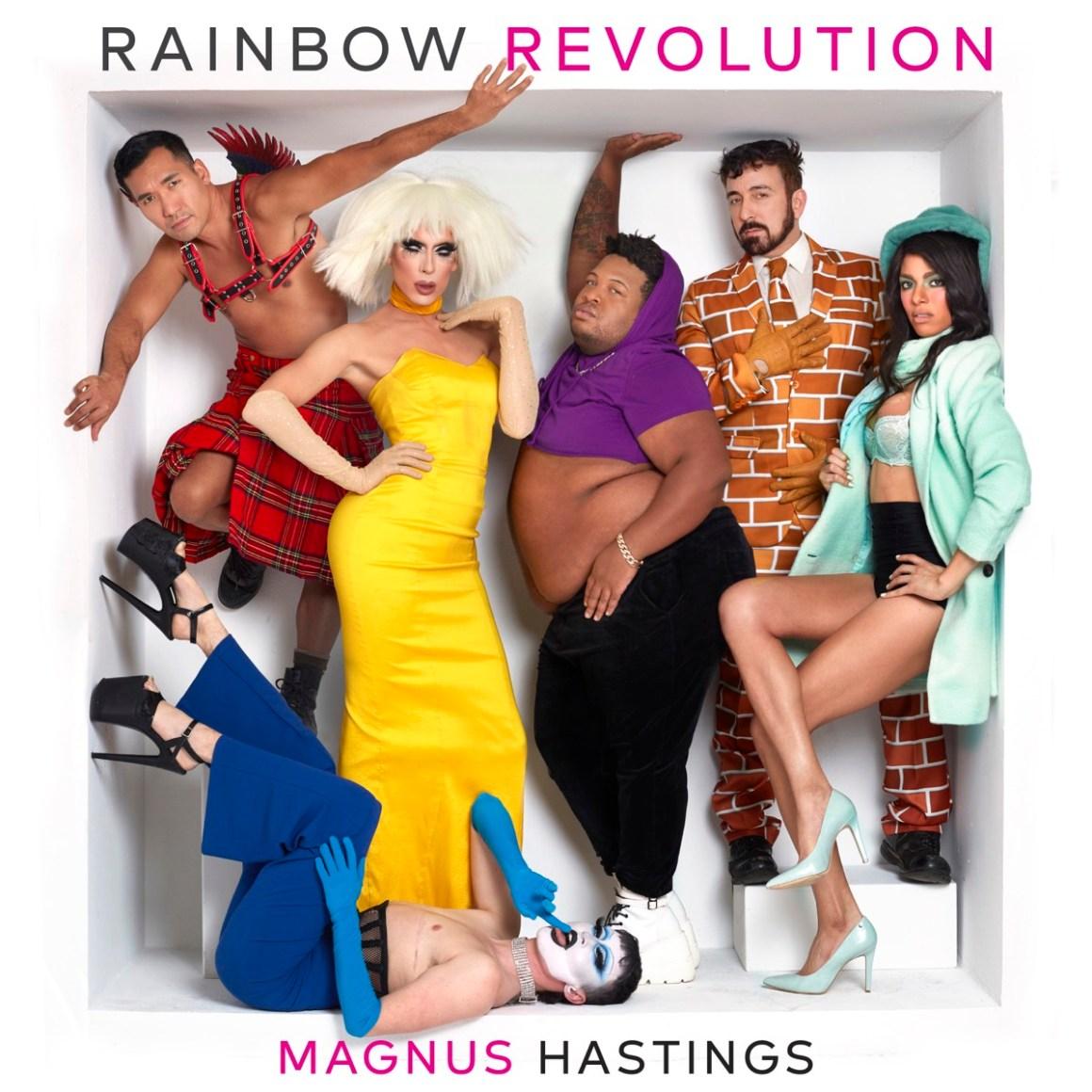 Magnus Hastings' Rainbow Revolution book