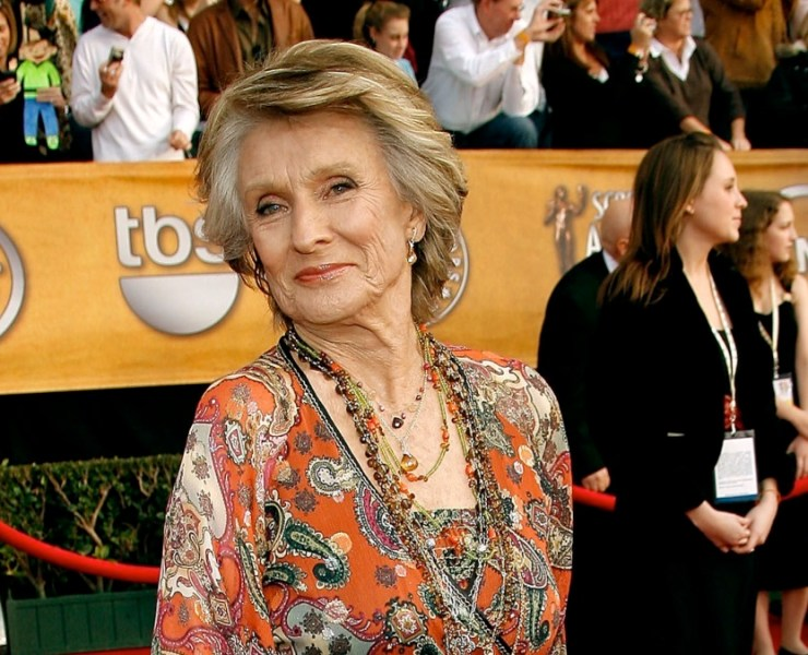 Cloris Leachman 13th Annual Screen Actors Guild Awards - Arrivals