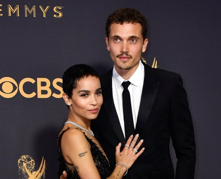 Zoe Kravitz and Karl Glusman 69th Annual Primetime Emmy Awards - Arrivals