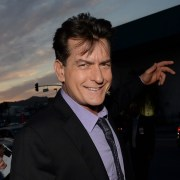 """Charlie Sheen Premiere Of Dimension Films' """"Scary Movie 5"""" - Red Carpet"""