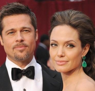 Oscar-nominated actors Angelina Jolie and Brad Pitt