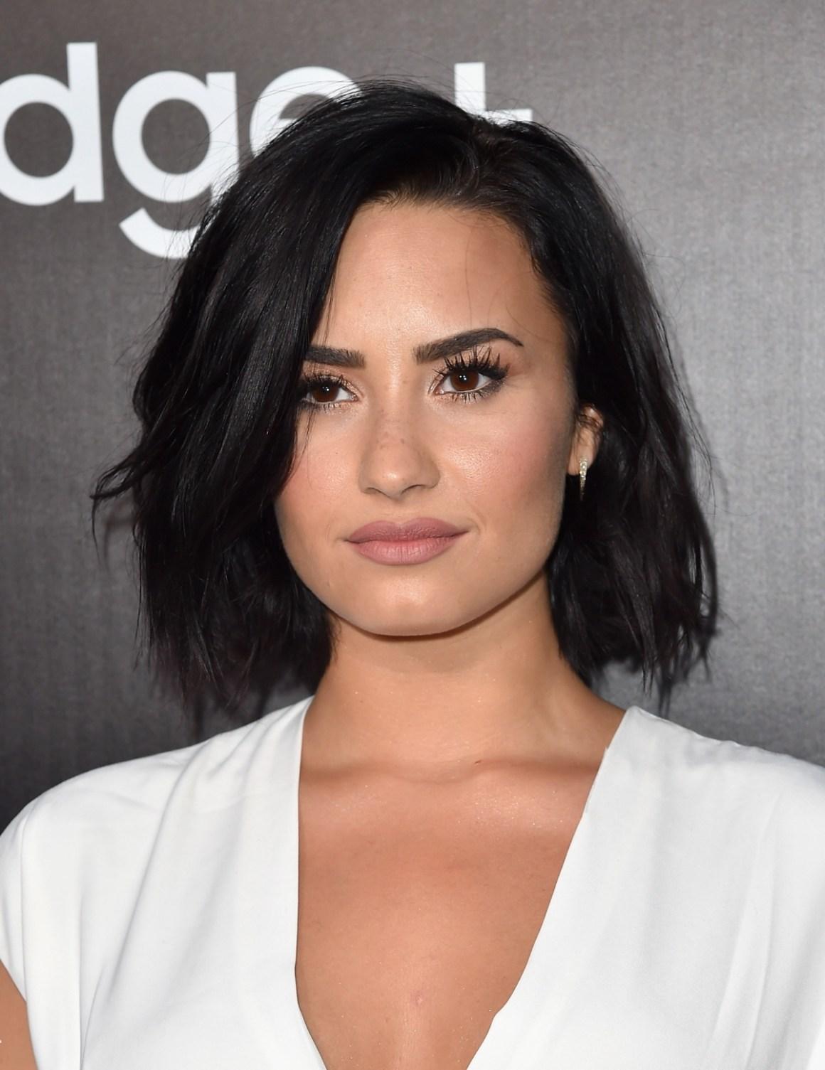 Demi Lovato Samsung Launch Party