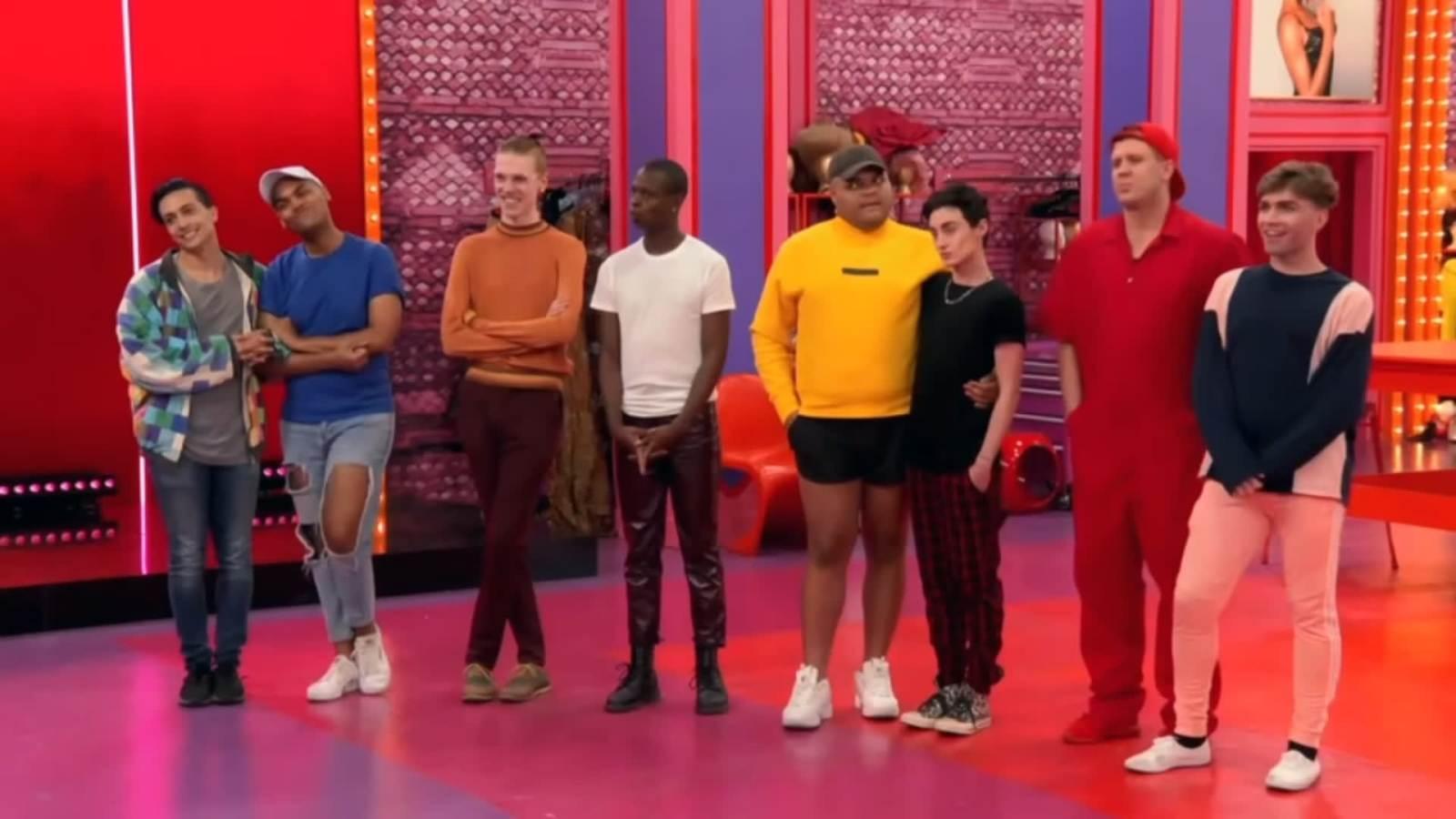rupauls drag race makeover challenge