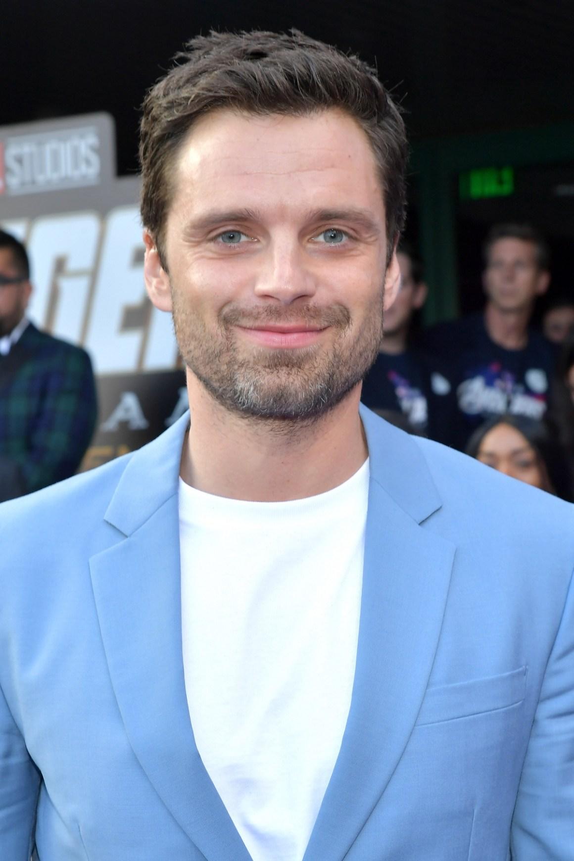 """Sebastian Stan World Premiere Of Walt Disney Studios Motion Pictures """"Avengers: Endgame"""" - Red Carpet"""