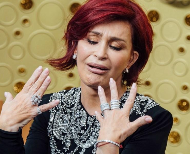Sharon Osbourne 71st Emmy Awards - Arrivals