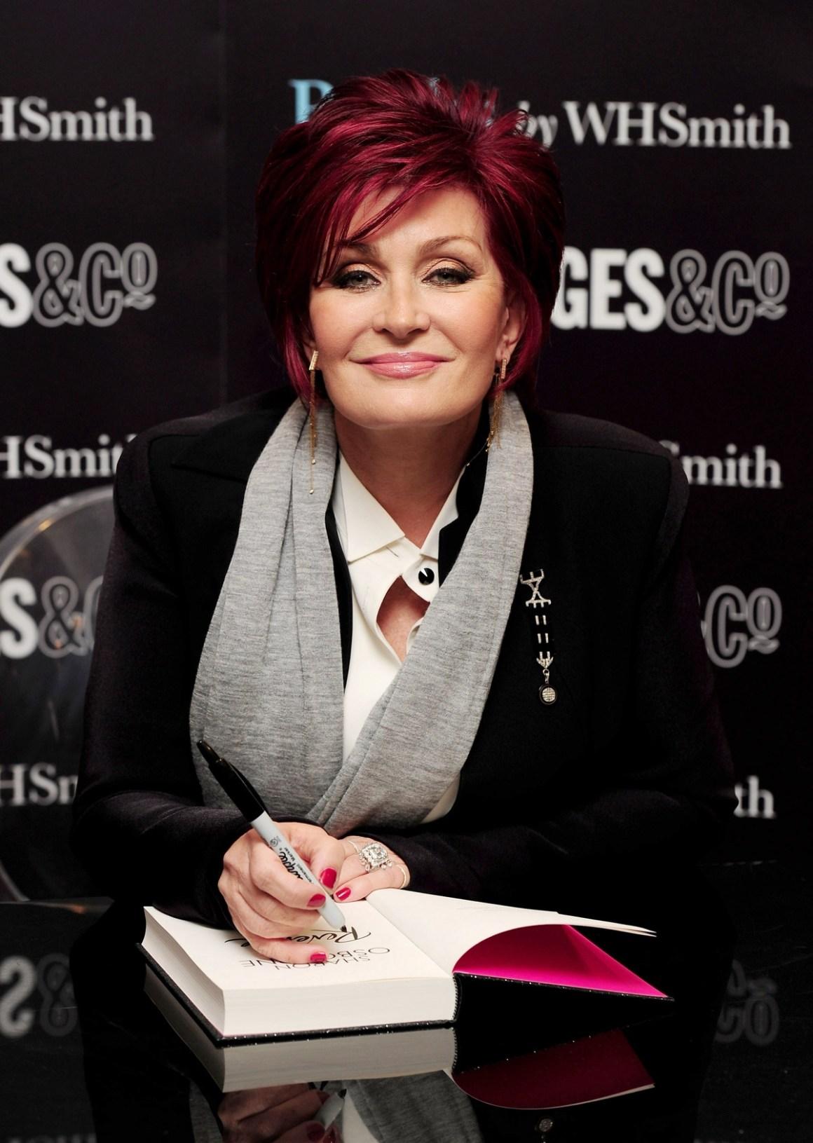 Sharon Osbourne - Selfridges Book Signing