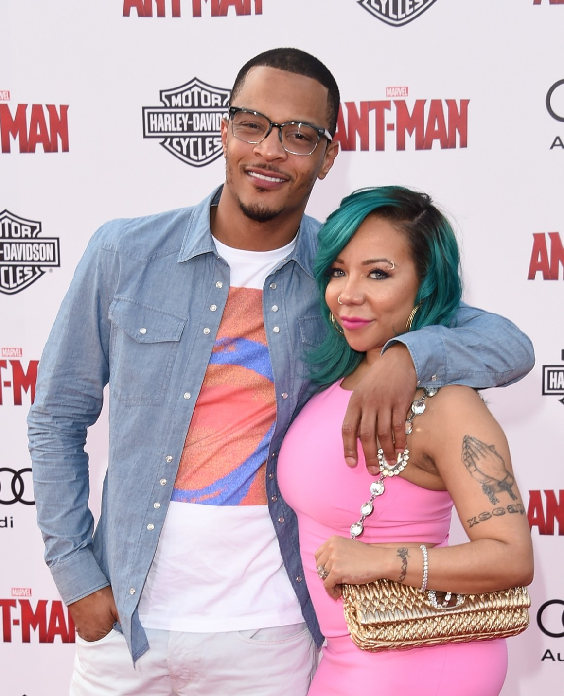 """TI and Tiny Premiere Of Marvel's """"Ant-Man"""" - Arrivals"""