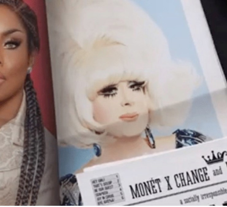 Lady Bunny and Monet X Change Podcast Ebony and Ivory