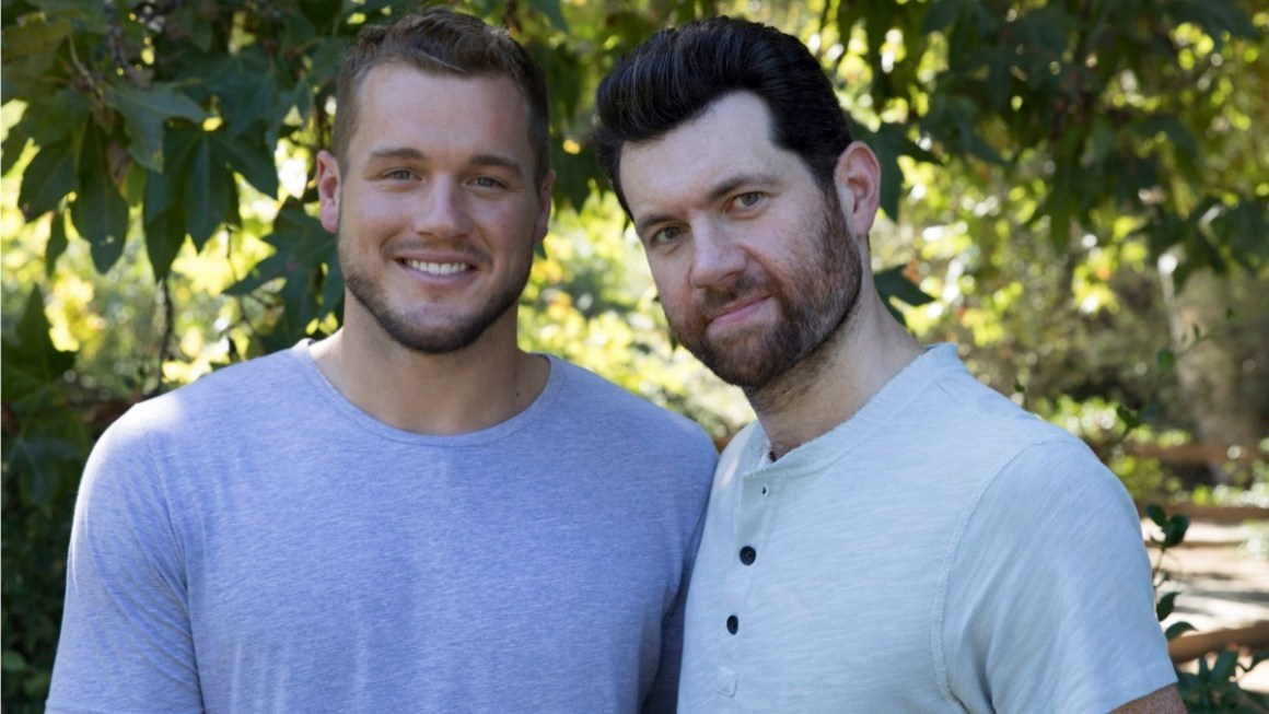 Billy Eichner and Colton Underwood