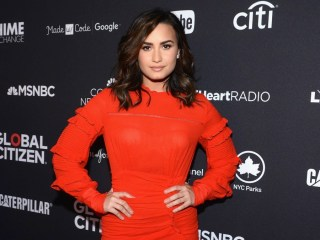 Demi Lovato 2016 Global Citizen Festival In Central Park To End Extreme Poverty By 2030 - VIP Lounge