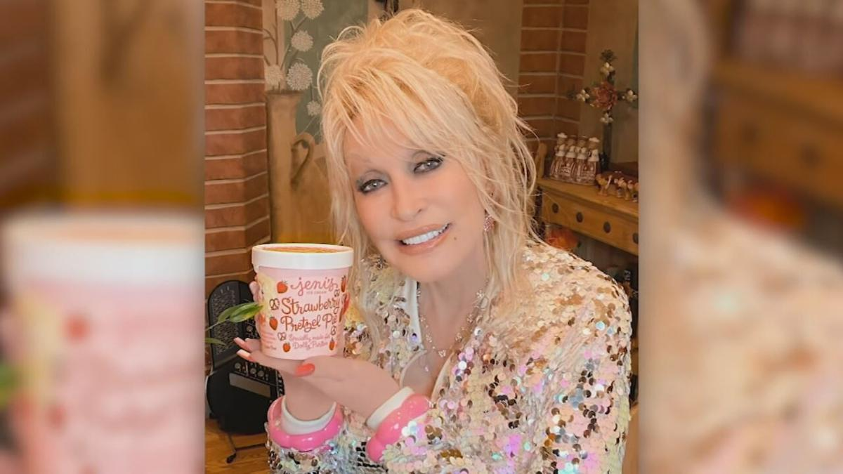Dolly Parton ice cream