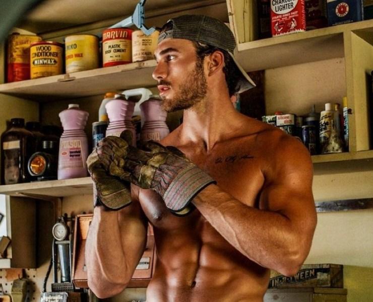 male model Michael Yerger