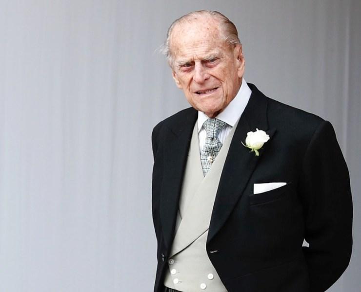Prince Philip Princess Eugenie Of York Marries Mr. Jack Brooksbank