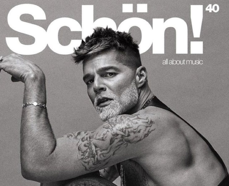 Ricky Martin for Schon