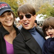 US actor Tom Cruise and his daughter Suri Cruise