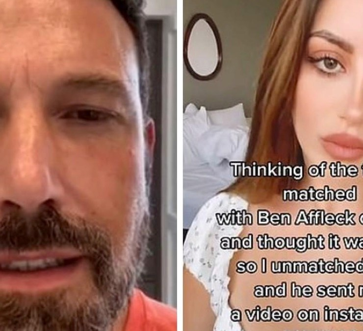 Ben Affleck and Nivine Jay