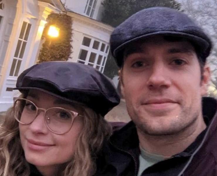 Henry Cavill and Natalie Viscuso