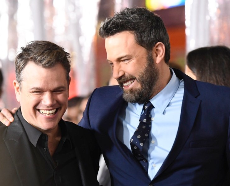 "Matt Damon and Ben Affleck Premiere Of Warner Bros. Pictures' ""Live By Night"" - Arrivals"