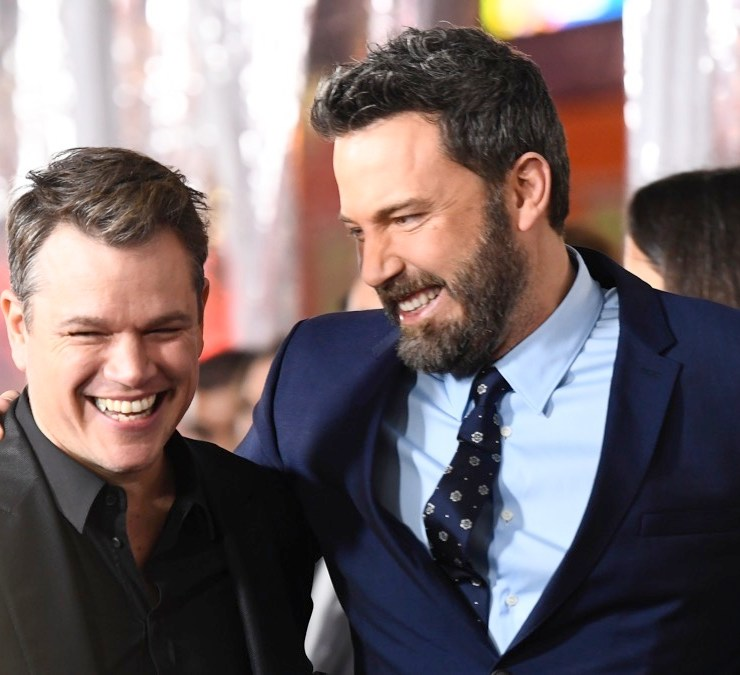 """Matt Damon and Ben Affleck Premiere Of Warner Bros. Pictures' """"Live By Night"""" - Arrivals"""