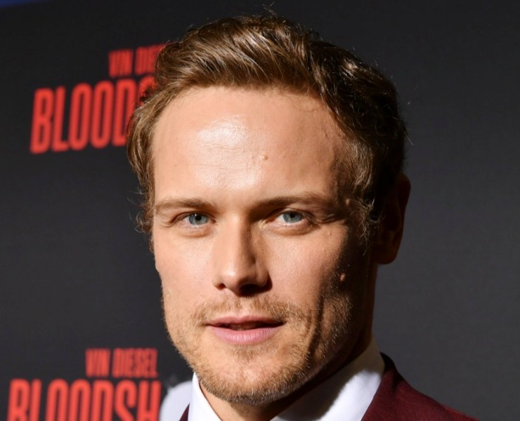 """Sam Heughan Premiere Of Sony Pictures' """"Bloodshot"""" - Red Carpet"""